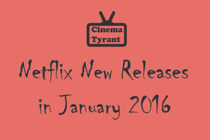 netflix new releases january 2016