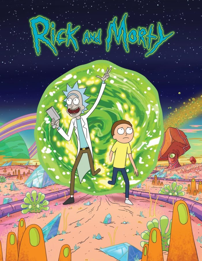 Rick and Morty on netflix
