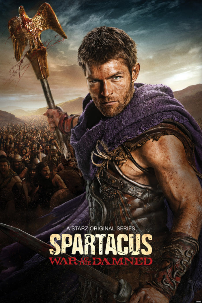 spartacus on netflix